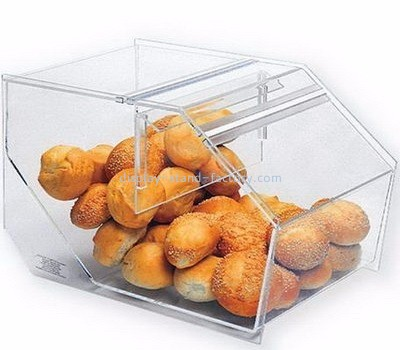 Custom acrylic bread box bakery display cases pastry display case NFD-002