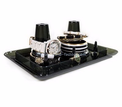Customized acrylic watch display stand jewelry display racks retail product display stands NJD-006