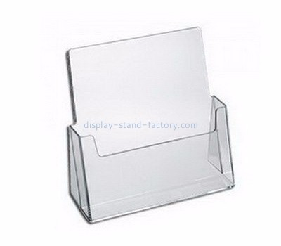 Custom acrylic leaflets holders acrylic postcard holder pamphlet display stand NBD-002