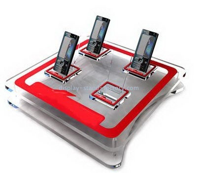 Acrylic products manufacturer customize retail counter display cell phone holder stands NDS-026