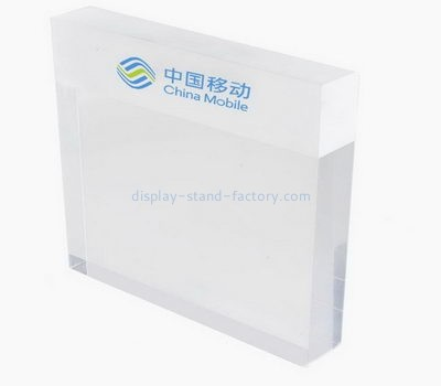 Custom acrylic signs perspex display countertop stands NDS-028