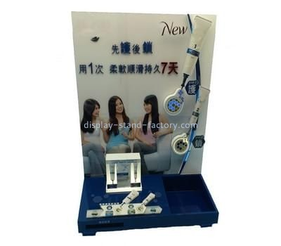 Customize retail acrylic cosmetic display stands NMD-277