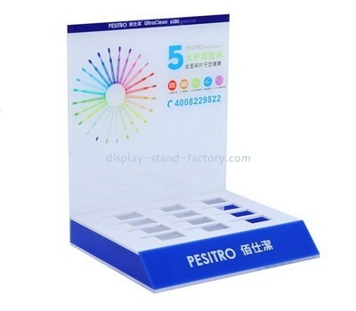 Customize perspex cosmetic retail display NMD-348