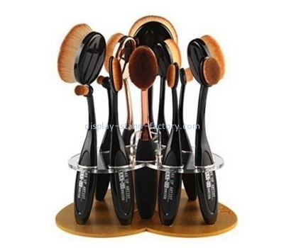 Customize plexiglass cosmetic brush holder NMD-436