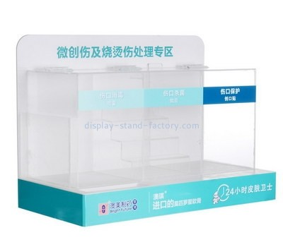 Customize acrylic mac makeup display stands NMD-445