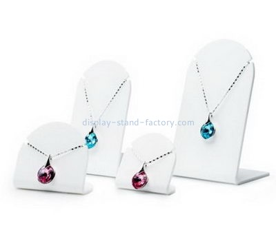 Customize perspex jewelry necklace display NJD-222