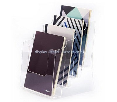 Customize acrylic literature rack holder NBD-578