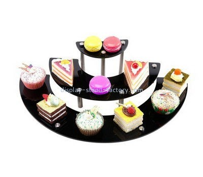 Customize acrylic tiered cake display stands NFD-125