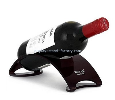 Customize single wine bottle display stand NFD-129