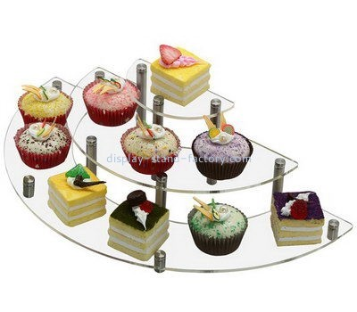 Customize acrylic cupcake stand display NFD-136