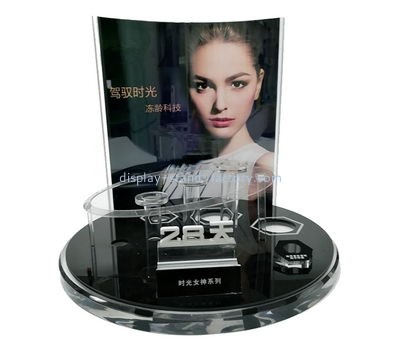 Customize lucite cosmetic retail displays NMD-539