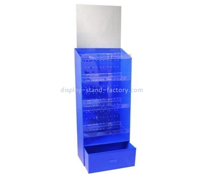 Customize acrylic display cabinet with drawers NAB-934