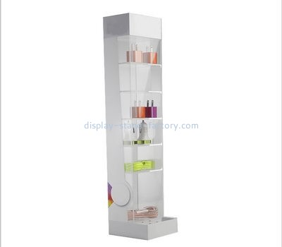 Customize acrylic tall narrow display cabinet NAB-945