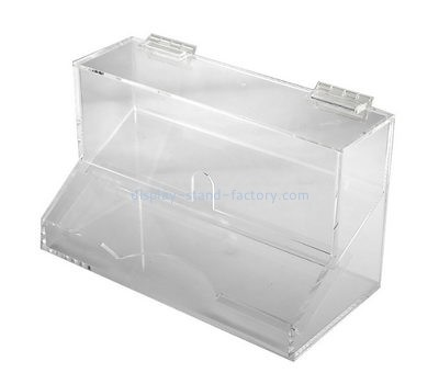 Customize acrylic clear show boxes NAB-951