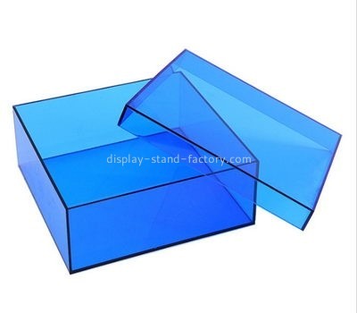 Customize acrylic storage box with lid NAB-961