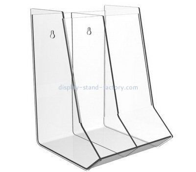 Customize plexiglass wall display case NAB-983