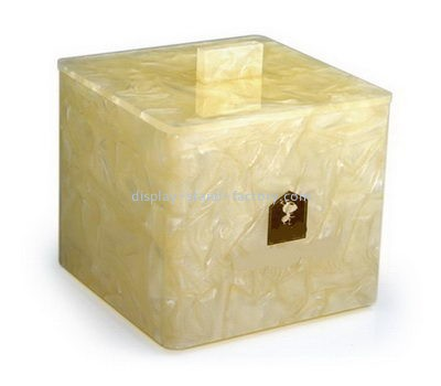 Customize lucite storage box with lid NAB-1000