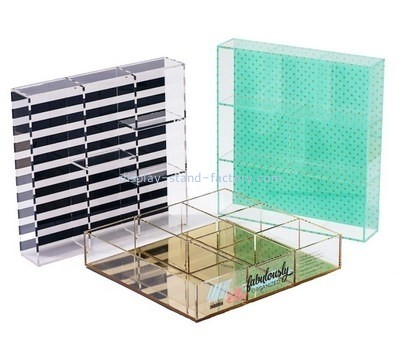 Wholesale lucite tray with insert STD-132
