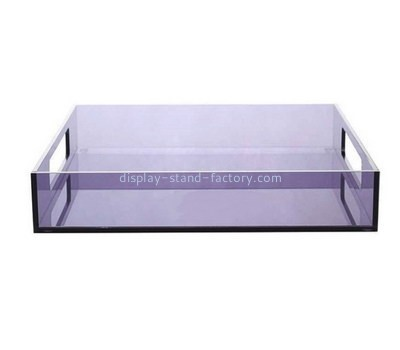 Customize plexiglass serving tray STD-136