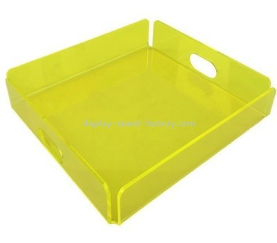 Customize lucite breakfast tray STD-138