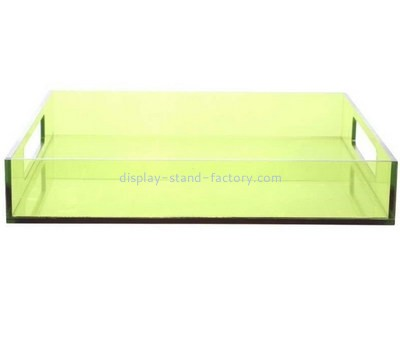 Customize lucite food tray STD-137