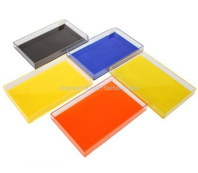 Customize acrylic serving tray set STD-144