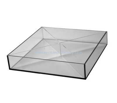 Customize perspex square tray STD-165