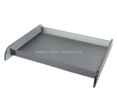 Customize acrylic rectangular serving tray STD-168