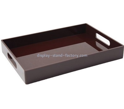 Customize lucite rectangular serving tray STD-170