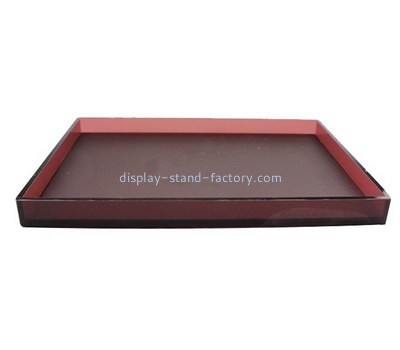 Customize lucite restaurant serving trays STD-169