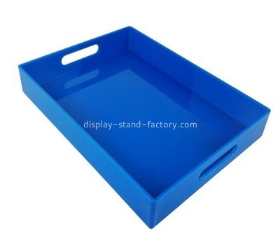 Customize lucite dinner trays STD-183