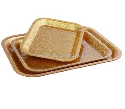 Customize lucite serving tray set STD-215