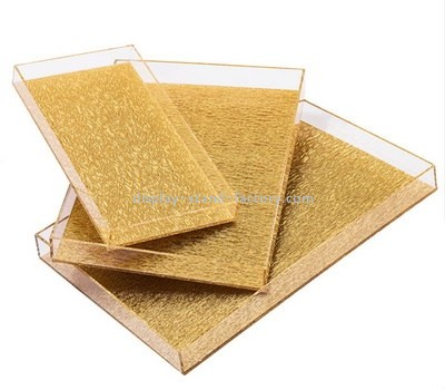 Customize perspex serving tray set STD-218