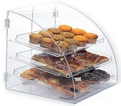 Customize acrylic bread box display case NFD-150