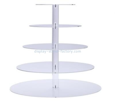 Customize plexiglass cake and cupcake display stand NFD-164