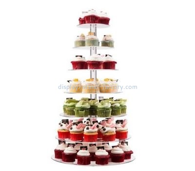 Customize acrylic cupcake stand for wedding display NFD-163