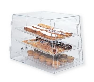 Customize lucite bread display case NFD-179
