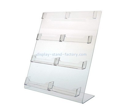 Acrylic multiple business card holder NBD-594