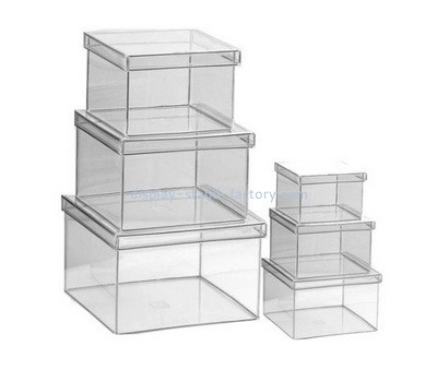 Clear plastic box with lid NAB-1015