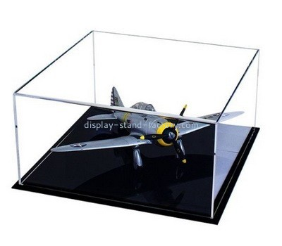Acrylic model airplane display case NAB-1038