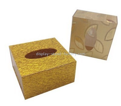 Acrylic small tissue box NAB-1052