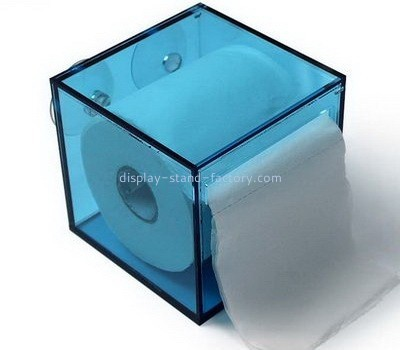Acrylic tissue paper box cover NAB-1055