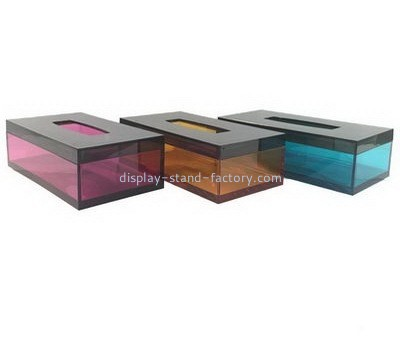 Acrylic modern tissue box cover NAB-1064