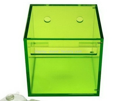 Acrylic green tissue box cover NAB-1069