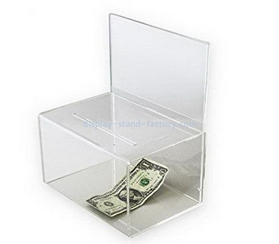 Lucite donation box design NAB-1076