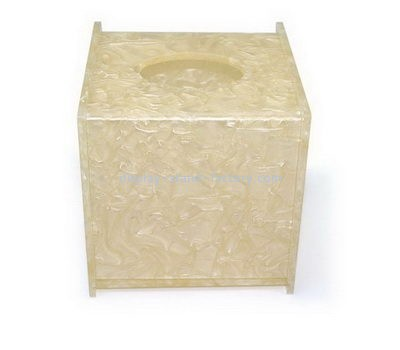Square acrylic tissue box NAB-1091
