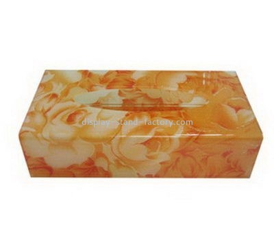 Rectangular acrylic tissue box NAB-1108