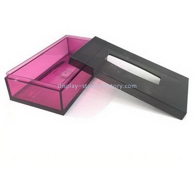 Custom acrylic tissue box NAB-1116