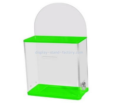 Custom acrylic suggestion box NAB-1120