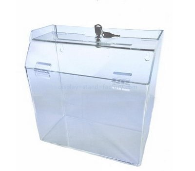 Custom acrylic donation box NAB-1123